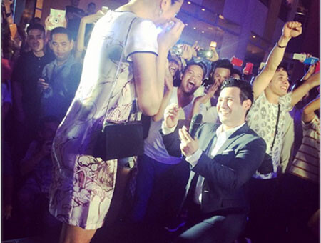John Prats Proposed to Isabel Oli